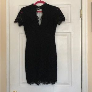 beautiful dress color black size s